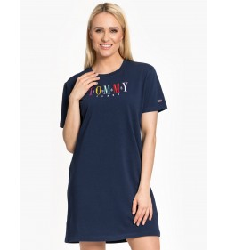 "Tommy Jeans ""Graphic Tee Dress"" Blue"