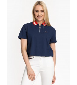 "Tommy Jeans ""Branded Collar Polo"" Blue"