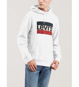 "Levi's ""Graphic Po Hoodie-B"" Sportswear Hoodie White"