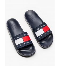 "Tommy Jeans ""Flag Pool Slide"" Blue"