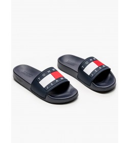 "Tommy Jeans ""Flag Pool Slide"" Navy"