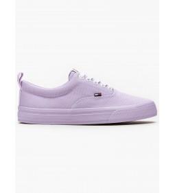 """Tommy Jeans """"Wmn Classic Tommy Sneaker"""" Purple"""