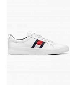 "Tommy Hilfiger ""Flag Detail Sneakers"" White"