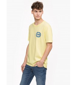 "Lee ""Emblem Tee"" Yellow Sign"