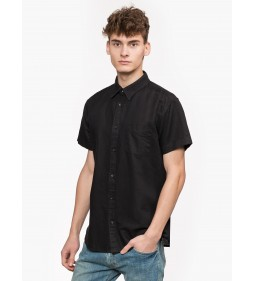 "Wrangler ""1 Pkt Shirt"" Black"