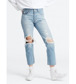 "Levi's ""501® Crop"" Montgomery Patched"