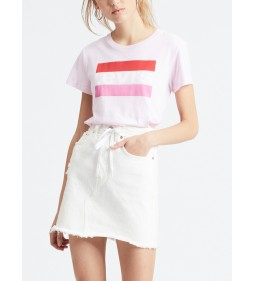 "Levi's ""The Perfect Tee"" Sptwr Logo color Pink Lady"
