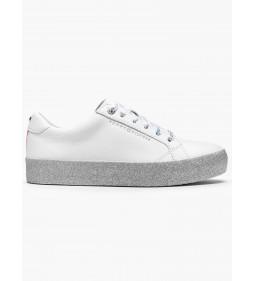 "Tommy Hilfiger ""Glitter Dress Sneaker"" White"