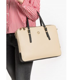 "Tommy Hilfiger ""Honey Computer Bag"" Beige"