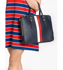 "Tommy Hilfiger ""Honey Computer Bag"" Blue"