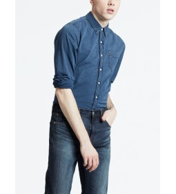 "Levi's ""Sunset I Pocket Shirt"" Wheatland Indigo"