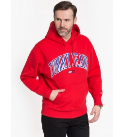 "Tommy Jeans ""Clean Collegiate"" Red"