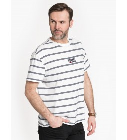 """Tommy Jeans """"Signature Stripe Tee"""" White"""