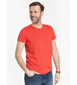 "Tommy Jeans ""Essential Jaspe Tee"" Red"