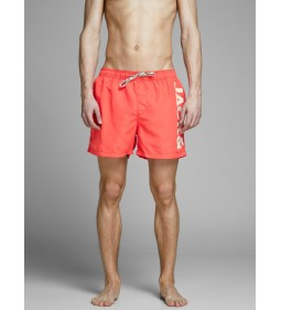 "Jack & Jones ""Cali JJswim Shorts"" Hot Coral"