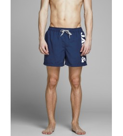 "Jack & Jones ""Icali JJswim Shorts"" Medieval Blue"