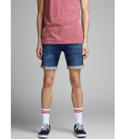 "Jack & Jones ""Irick Jjicon Shorts"" Blue Denim"
