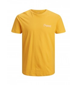 "Jack & Jones ""Jorstomp Tee"" Yolk Yellow"