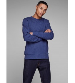 "Jack & Jones ""Jeholmen Sweat Crew"" Blue Depths"