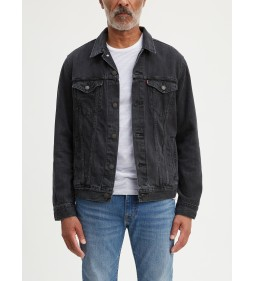 "Levi's ""The Trucker Jacket"" Liguorice Trucker"