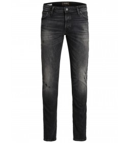 "Jack & Jones ""Glenn"" Black Denim"