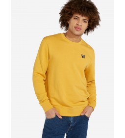 "Wrangler ""Sign Off Crew"" Mineral Yellow"