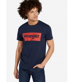 "Wrangler ""Logo Tee"" Navy"
