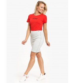 """Tommy Jeans """"Flag On Script Tee"""" Red"""