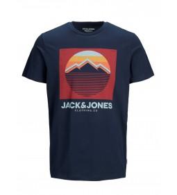 """Jack & Jones """"Jordorsey Tee"""" Navy Blazer"""