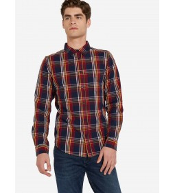 "Wrangler ""1Pkt Shirt"" Crimson Red"