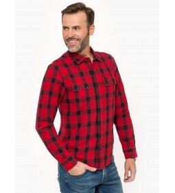 "Lee ""Rider Shirt"" Warp Red"