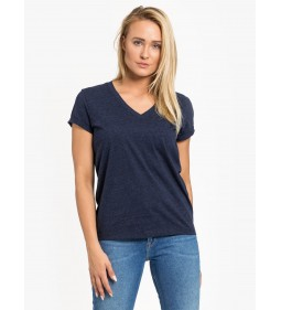 "Lee ""V Neck Tee"" Midnight Navy"