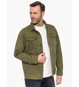 """Tommy Jeans """"Cargo Jacket"""" Green"""