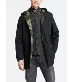"Levi's ""Hooded Coachis Jacket"" Caviar"