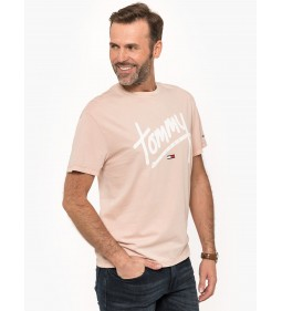 """Tommy Jeans """"Handwriting Tee"""" Pink"""