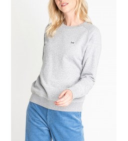 "Lee ""Plain Crew Neck Sws"" Grey Mele"