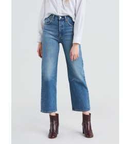 "Levi's ""Ribcage Straigt Ankle"" Jive Swing"