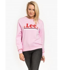 """Lee """"Logo Sws"""" Frost Pink"""