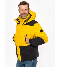 "Lee ""Mid Puffer Jacket"" Lemon Zest"