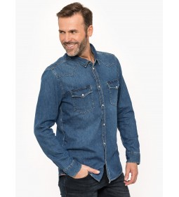 "Tommy Jeans ""Western Denim Shirt"" Denim"