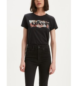 "Levi's ""The Perfect Tee"" Hsmk Photo Fill Meteorite"