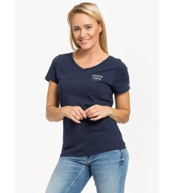 """Tommy Jeans """"Essential V-Neck Tee"""" Blue"""
