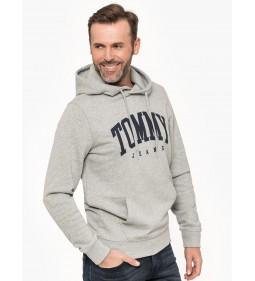 """Tommy Jeans """"Essential Hoodie"""" Grey"""