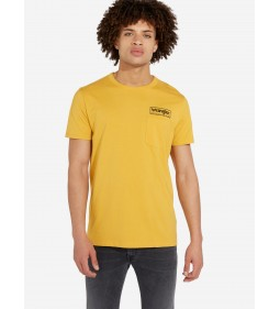 "Wrangler ""Pocket Tee"" Mineral Yellow"