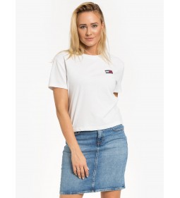 """Tommy Jeans """"Badge Tee"""" White"""