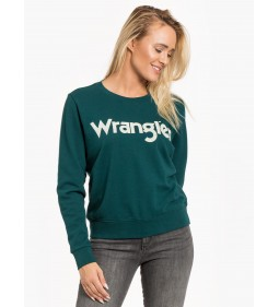 "Wrangler ""Logo Sweat"" Pine"