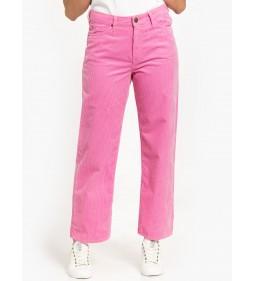 """Lee """"5pocket Wide Leg"""" Cameo Pink"""