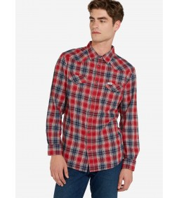 "Wrangler ""Western Shirt"" Red"