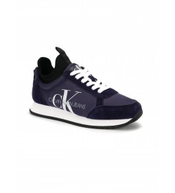 Calvin Klein Jemmy Low Top Lace Up Suede Medieval Blue