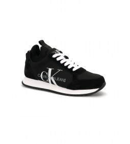 Calvin Klein Josslyn Low Top Lace Up Suede Black